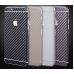 Carbon Fiber iPhone 6s 6 Plus Decal Wrap Skin Set Sliver protective carrying case by PDair