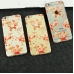 iPhone 6s 6 Plus Decal Wrap Skin Set (Peony Flowers Pattern) protective carrying case by PDair