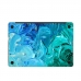 MacBook Air Pro Decal Wrap Skin Set (Ocean Oil Paint Cloud) handmade leather case by PDair