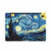 MacBook Air Pro Decal Wrap Skin Set (Starry Night) genuine leather case by PDair