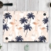 MacBook Air Pro Decal Skin Set (Flamingo Forest Pattern) protective carrying case by PDair