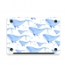 MacBook Air Pro Decal Skin Set (Whale Pattern) protective carrying case by PDair