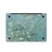 MacBook Air Pro Decal Skin Set (Prunus Armeniaca Flower) handmade leather case by PDair