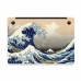 MacBook Air Pro Decal Skin Set (Ocean Wave) handmade leather case by PDair