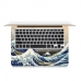 MacBook Air Pro Decal Skin Set (Ocean Wave) genuine leather case by PDair