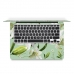 MacBook Air Pro Decal Skin Set (Lily Flower) genuine leather case by PDair