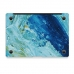 MacBook Air Pro Decal Skin Set (Watercolor Paint) handmade leather case by PDair