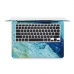 MacBook Air Pro Decal Skin Set (Watercolor Paint) genuine leather case by PDair
