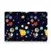 MacBook Air Pro Decal Skin Set (Space Rocks) handmade leather case by PDair