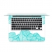 MacBook Air Pro Decal Skin Set (Art 001 Aqua) :: PDair 10% OFF genuine leather case by PDair