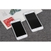 Brushed Aluminum Surface iPhone 7 7 Plus Decal Wrap Skin Set (White) protective carrying case by PDair