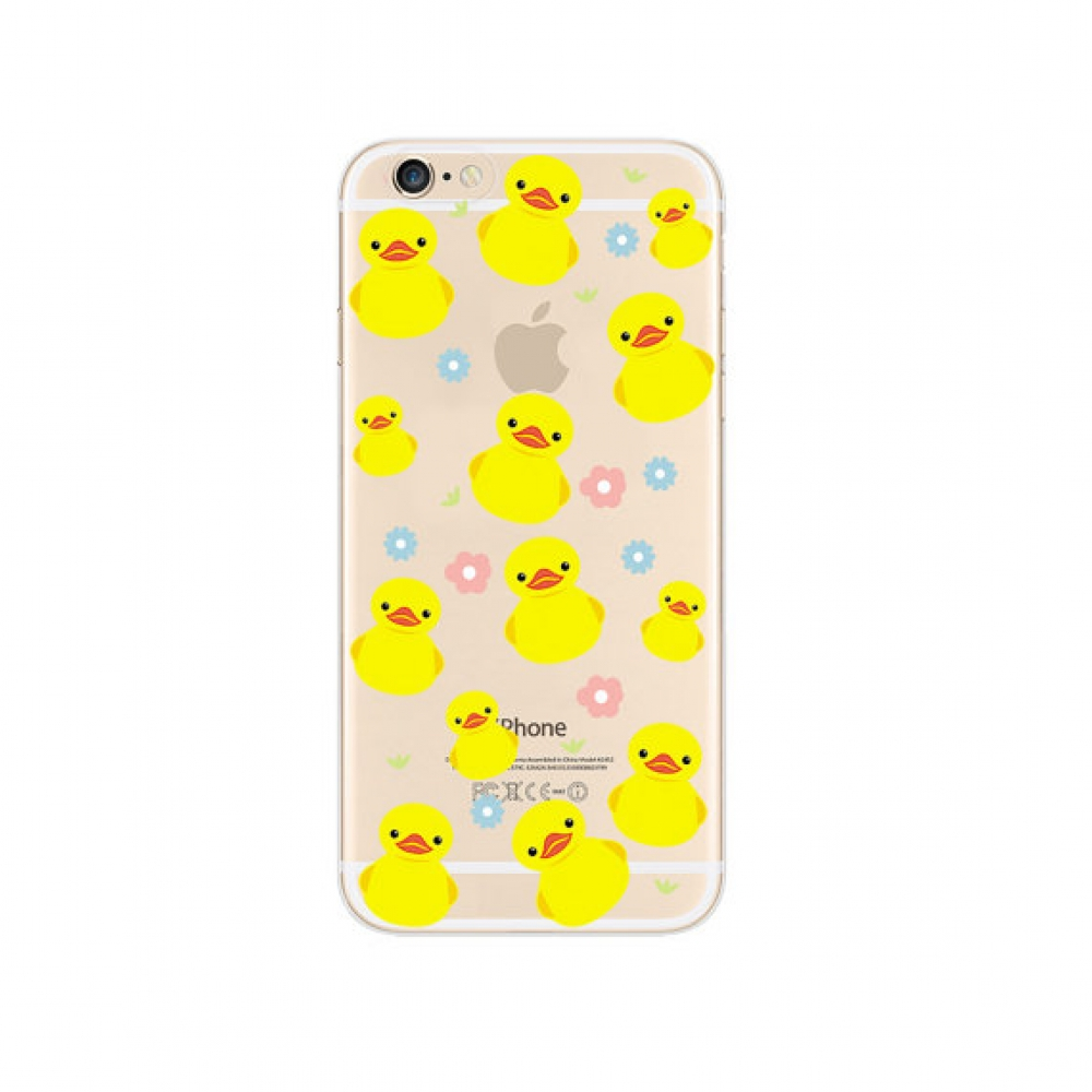 10% OFF + FREE SHIPPING, Buy PDair iPhone Pattern Printed Soft Clear Case (Duck Cutie Pattern) which is available for iPhone 5 | iPhone 5s SE 6 6s, iPhone 6 Plus | iPhone 6s Plus. You also can go to the customizer to create your own stylish leather case i