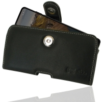 Leather Horizontal Pouch Case with Belt Clip for Essential Phone | Essential PH-1