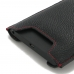BlackBerry Priv Leather Sleeve (Red Stitching) genuine leather case by Pdair