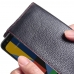 Google Pixel 4 RFID Blocking Continental Sleevw Wallet (Red Stitching) handmade leather case by PDair