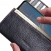 HTC Wildfire X Leather Continental Sleeve Wallet (Red Stitching) protective carrying case by PDair