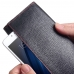 MEIZU U10 Leather Continental Sleeve Wallet (Red Stitching) handmade leather case by PDair