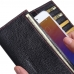 Meizu Pro 6 Leather Continental Sleeve wallet (Red Stitching) top quality leather case by PDair