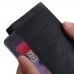 OnePlus 6 Leather Continental Sleeve Wallet (Red Stitching) handmade leather case by PDair