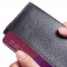 OPPO Find X Leather Continental Sleeve Wallet (Red Stitching) handmade leather case by PDair