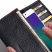 OPPO R9 Leather Continental Sleeve wallet (Red Stitching) top quality leather case by PDair