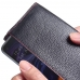 Samsung Galaxy A60 Leather Continental Sleeve Wallet (Red Stitching) handmade leather case by PDair
