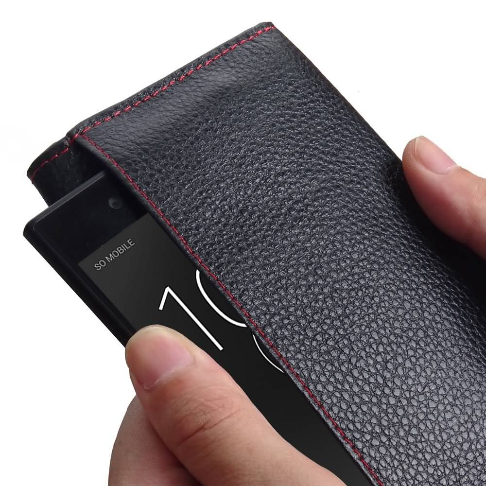 low priced 5f178 44d17 Xperia XZ1 Compact RFID Blocking Continental Sleeve Wallet