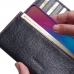 ViVO Y89 Leather Continental Sleeve Wallet (Red Stitching) protective carrying case by PDair