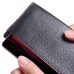 ViVO Z1 Lite Leather Continental Sleeve Wallet (Red Stitching) handmade leather case by PDair