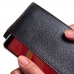 Xiaomi Redmi S2 Leather Continental Sleeve Wallet (Red Stitching) handmade leather case by PDair