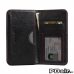 Acer Liquid Z630 Leather Wallet Sleeve Case (Red Stitching) offers worldwide free shipping by PDair