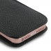 iPhone 5 5s Pouch Case with Belt Clip (Black Stitching) genuine leather case by PDair