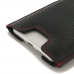 iPhone 8 Plus Leather Sleeve (Red Stitching) genuine leather case by PDair