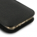 iPhone 6 6s (in Slim Cover) Pouch Clip Case (Black Stitching) genuine leather case by PDair