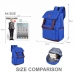 Casual Canvas Laptop Bag/ Shoulder Backpack/ School Backpack FC008003 protective carrying case by PDair