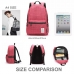 Casual Canvas Laptop Bag/ Shoulder Backpack/ School Backpack FC009033 protective carrying case by PDair