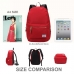 Casual Canvas Laptop Bag / Shoulder Backpack / School Backpack FC7032 protective carrying case by PDair