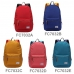 Casual Canvas Laptop Bag / Shoulder Backpack / School Backpack FC7032 genuine leather case by PDair