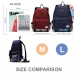 Casual Canvas Laptop Bag / Shoulder Backpack / School Backpack FC7035 protective carrying case by PDair