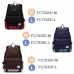 Casual Canvas Laptop Bag / Shoulder Backpack / School Backpack FC7035 top quality leather case by PDair