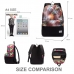 Casual Canvas Laptop Bag / Shoulder Backpack / School Backpack FC8015 protective carrying case by PDair