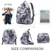 Casual Canvas Laptop Bag / Shoulder Backpack / School Backpack FC9006-2 protective carrying case by PDair