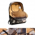 Casual Canvas Laptop Bag / Shoulder Backpack / School Backpack FC90188 handmade leather case by PDair