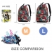 Casual Canvas Laptop Bag / Shoulder Backpack / School Backpack FC9018 protective carrying case by PDair