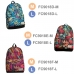 Casual Canvas Laptop Bag / Shoulder Backpack / School Backpack FC9018 top quality leather case by PDair