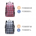 Casual Canvas Laptop Bag / Shoulder Backpack / School Backpack FC9055 top quality leather case by PDair