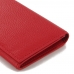 Leather Continental Sleeve Wallet (Red Pebble Leather) PDair 10% OFF top quality leather case by PDair