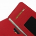 iPhone 8 Leather Wallet Sleeve Case (Red Pebble Leather) handmade leather case by PDair