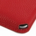 iPhone 8 Leather Wallet Sleeve Case (Red Pebble Leather) top quality leather case by PDair