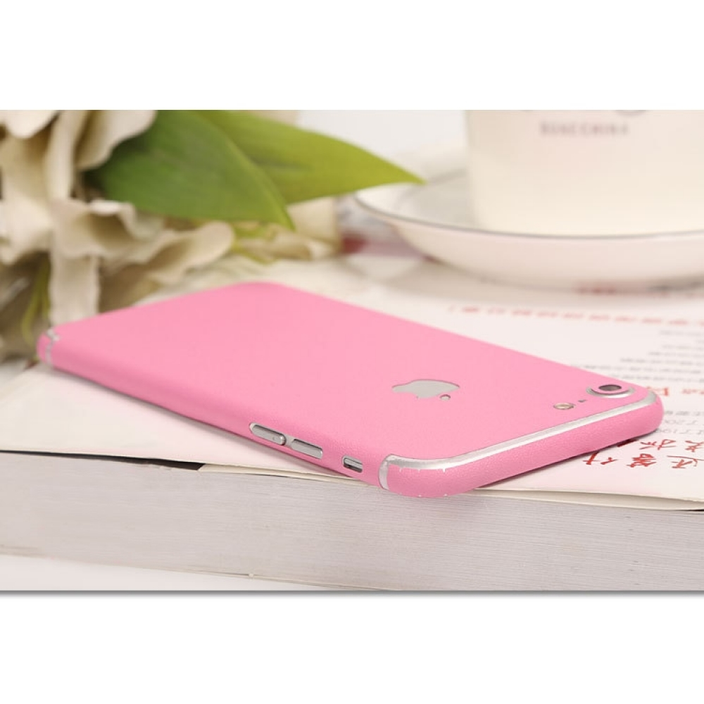 10% OFF + FREE SHIPPING, Buy Best PDair Top Quality Frosted Sparkle iPhone Decal Wrap Skin Set (Pink) which is available for iPhone 7, iPhone 7 plus. You also can go to the customizer to create your own stylish leather case if looking for additional color